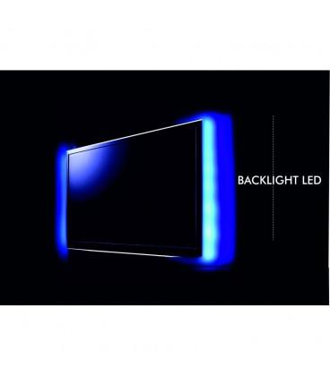 Tira LED 0,5mtsX2 RGB Alimentacion por USB para TV