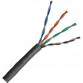 Bobina 305m Cable UTP Cat5e Rigido CU LSZH DCU