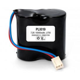 Pack Baterias 7,2V/6000mA Litio ER26500x2 Litio