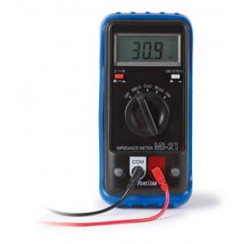 Medidor de impedancia para altavoces