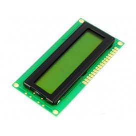 Display LCD 16x2 STN Positivo HD44780 1,38x6,35cm