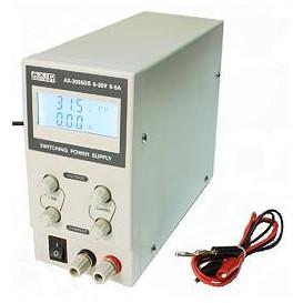 Fuente Alimentacion Laboratorio 0-30V 0-5Amp LCD