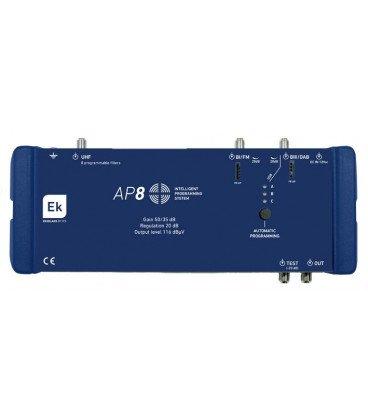 Central TV Programable 3E 8f 50dB AP8