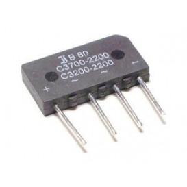 Puente Rectificador 80V 3,7A Hilos 32x15mm
