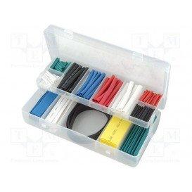 Tubo Termoretractil Caja 170 unidades varios colores
