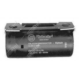 Condensador Motor Arranque 100-125uF 220Vac Faston 12AG038