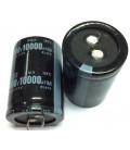 Condensador Electrolitico 10000uF 100Vdc 65x35mm 4pin