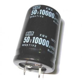 Condensador Electrolitico 10000uF 50V 85º 30X45mm 2Pin Snapin
