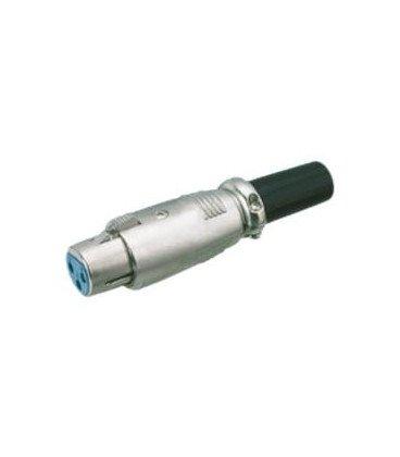 Conector XLR Hembra 4Pin