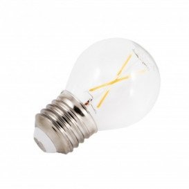 Bombilla LED Filamento ESFERICA E27 3W 3000K