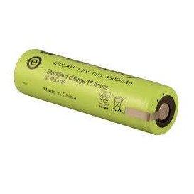 Bateria 4/3A, 4/3R23 1,2V 4500mA NiMh con Terminales medidas