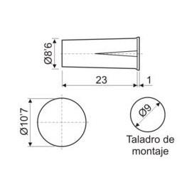 Interruptor Magnetico Empotrable