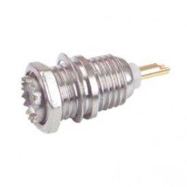 Conector MiniUHF Hembra Soldar para Panel