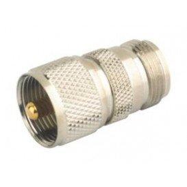 Adaptador UHF PL 259 Macho a N Hembra
