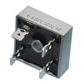 Puente Rectificador 1000V 50A FASTON medidas 28x28mm KBPC5010F