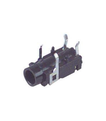 Base JACK 3,5mm Hembra Stereo Cto. Impreso