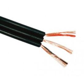 Bobina 100m Cable 3Audios Paralelo Blindado