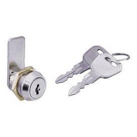 Cerradura llave plana, doble cara 18mm