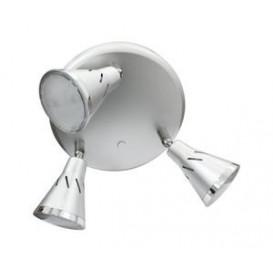 Foco LED Techo 5Wx3 1140lm orientable BLANCO