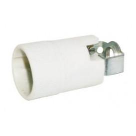 Portalamparas E14 porcelana 2A/250V