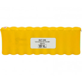 Pack Baterias 12V/2300mAh NI-MH AAx10 BAT356