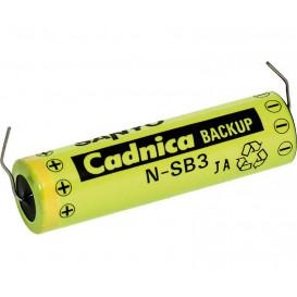Bateria 3,6V 90ma NI-CD