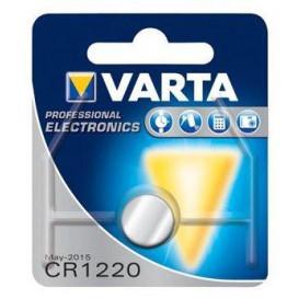 Pila Litio CR1220 VARTA 3V 35mA medidas 2x12,5mm 6220112401