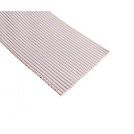 Cable Plano Informatica 10 Vias 1,27mm 50x28AWG color Gris