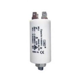 Condensador Trabajo Motor 15uF 450Vac 38x72mm FASTON y M8
