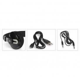 Auriculares BLUETOOTH Stereo NEGRO