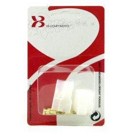 Caja conectora 3 conectores blister XB512