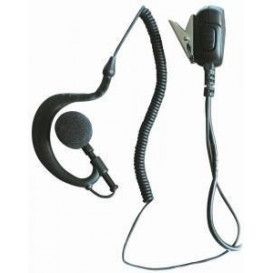 Micro-auricular PTT para YAESU AD-09