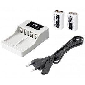 Cargador Bateria Litio 2X6F22