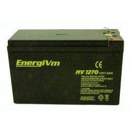 Bateria PLOMO 12V 7Ah AGM 151x65x101mm HQ ENERGIVM