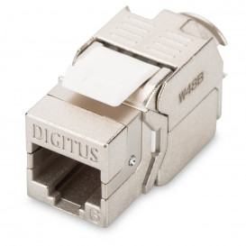 Base RJ45 Hembra Cat6 FTP especial paneles