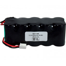 Pack Baterias 12V 4500mA NiMh RC14x10 c/Hilos