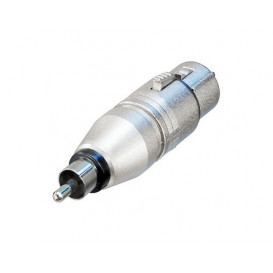 Adaptador XLR Hembra 3Pin a RCA Macho