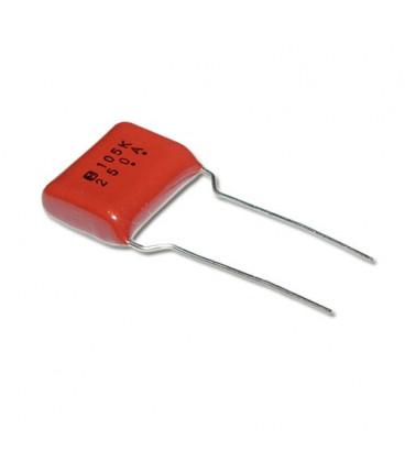 Condensador Poliester 1uF 250V  R22.5mm 1mF