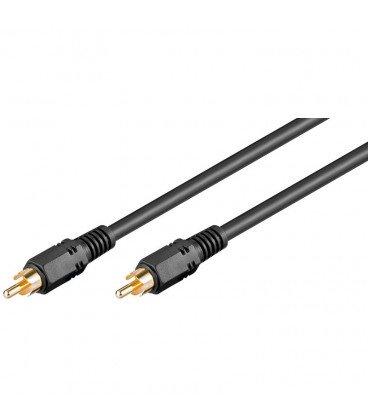 Cable RCA 1 Macho a RCA 1 Macho Video RG59 10m