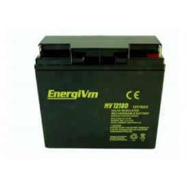 Bateria PLOMO 12V 18Ah AGM medidas 181x77x167mm ENERGIVM