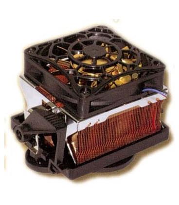 Ventilador AMD K8 con abrazadera 70x70x15