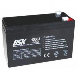 Bateria PLOMO 12V 9Ah UPS/Sais medidas 151x65x94mm DSK