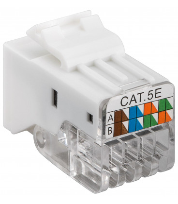 Base RJ45 Hembra Cat5e UTP sin herramienta