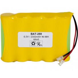 Bateria 6V 2500mA+PTC 5xAA NiMh