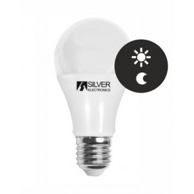 Bombilla LED SENSOR E27 7W 3000K Dia/Noche