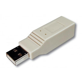 Adaptador USB A Macho - B Hembra
