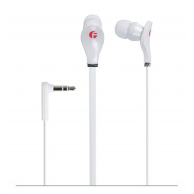 Auriculares Mini Cable Plano BLANCO