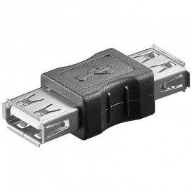 Adaptador USB A Hembra a USB A Hembra