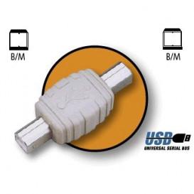 Adaptador USB B M - B M