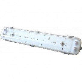 Pantalla Estanca IP65 T8 2 Tubos LED 1200mm ABS